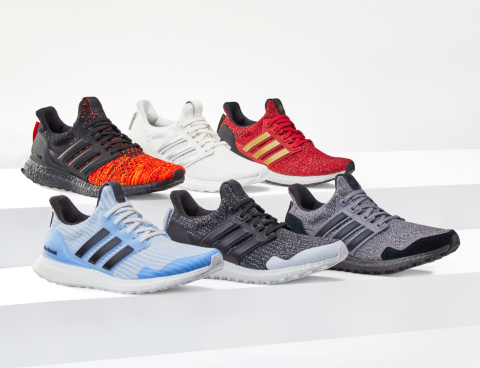 "BE UNBOWED IN ADIDAS ULTRABOOST ""GAME OF THRONES"""