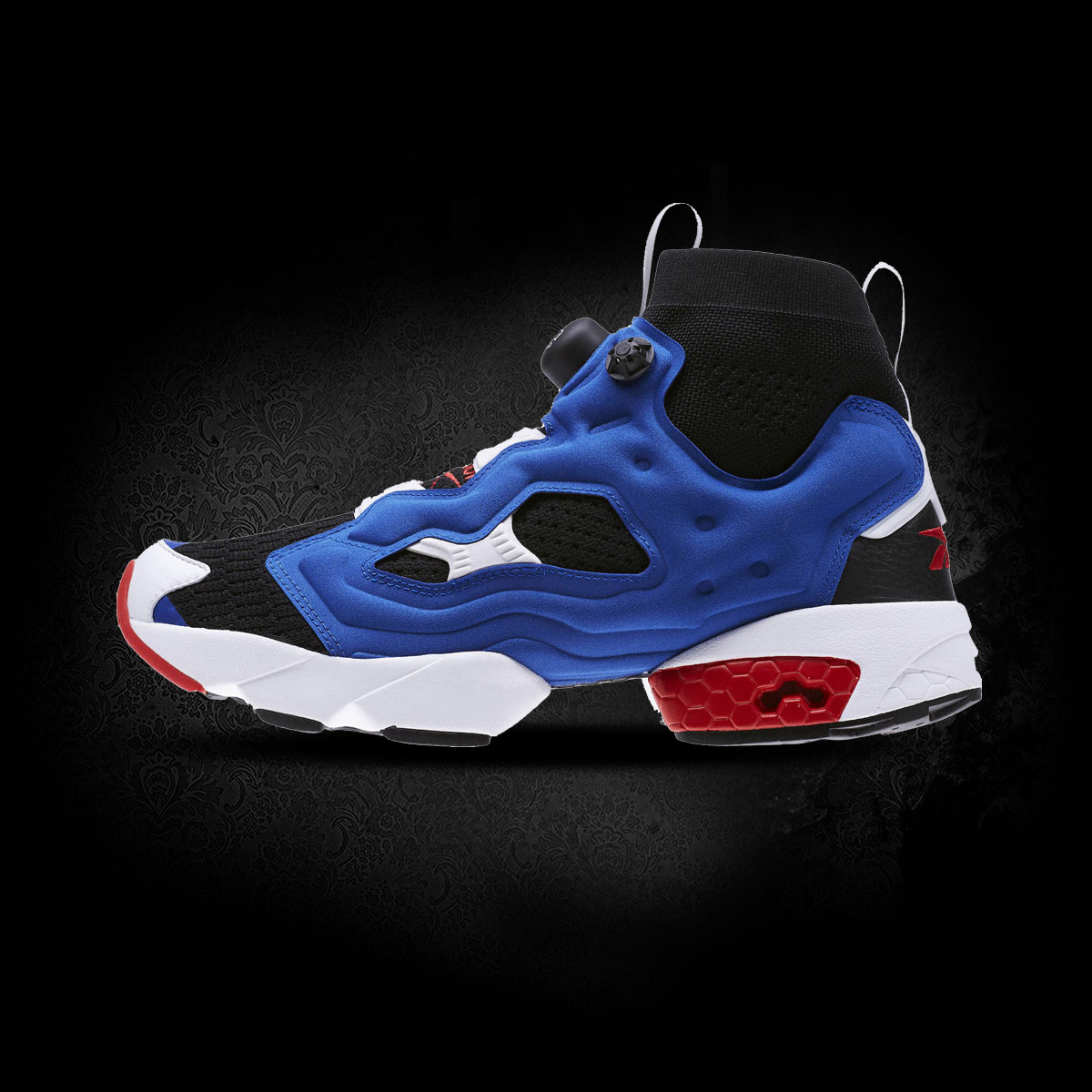 REEBOK Patike INSTAPUMP FURY OG U BLACK/TEAM DARK ROYA