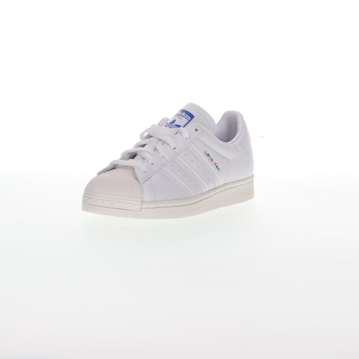 adidas neo advantage white pink blue color scheme