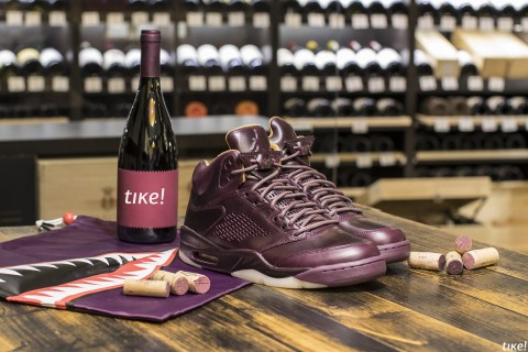 "Nike Air Jordan V Retro PRM ""Bordeaux"""