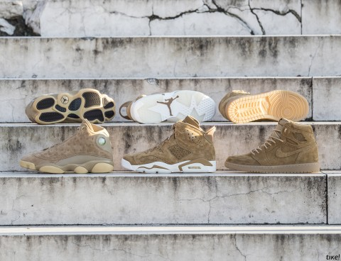 Nike Air Jordan Wheat Pack