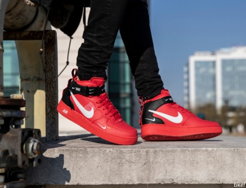 The Force of the Utility – Nike Air Force 1 MID Utility Red
