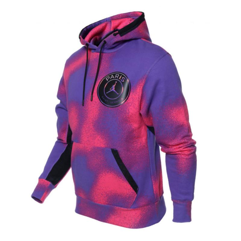 NIKE Jakna Paris Saint-Germain Printed Fleece Pullover Hoodie