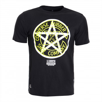 CONVERSE Majica CONVERSE X NEIGHBORHOOD TEE BLACK