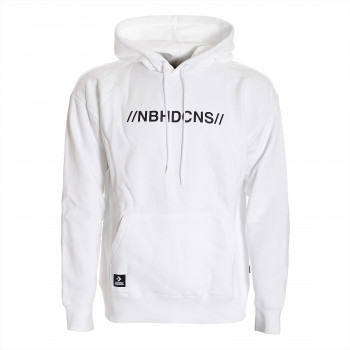 CONVERSE Dukserica CONVERSE X NEIGHBORHOOD HOODIE WHITE