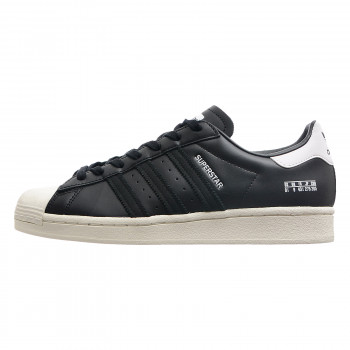 adidas superstar black with white stripes snake